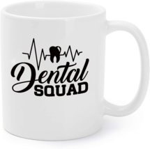 Dental Squad Tooth Heartbeat Dentist Dental Coffee Mug - $16.95