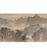 Chinese Art Painting Watercolor Gouache Asian Home Decor Signed 01338 - $199.00