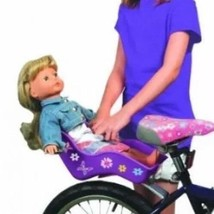 "Doll Bicycle Seat - ""Ride Along Dolly"" Bike Sea... - $23.36"