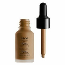 NYX Total Control Drop Foundation - TCDF18 Deep Sable  - $4.29