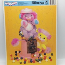 Vintage 1987 Golden POPPLES Bubble Gum Extra Thick Frame Tray Puzzle No ... - $14.55