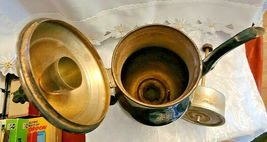 "FB Rogers Silver Co. Model 6354 Silverplate Electric Coffee Percolator POT 14.5"" image 5"