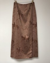Talbot's Equestrian Style Ultrasuede Wrap Skirt Size 8 - $24.99