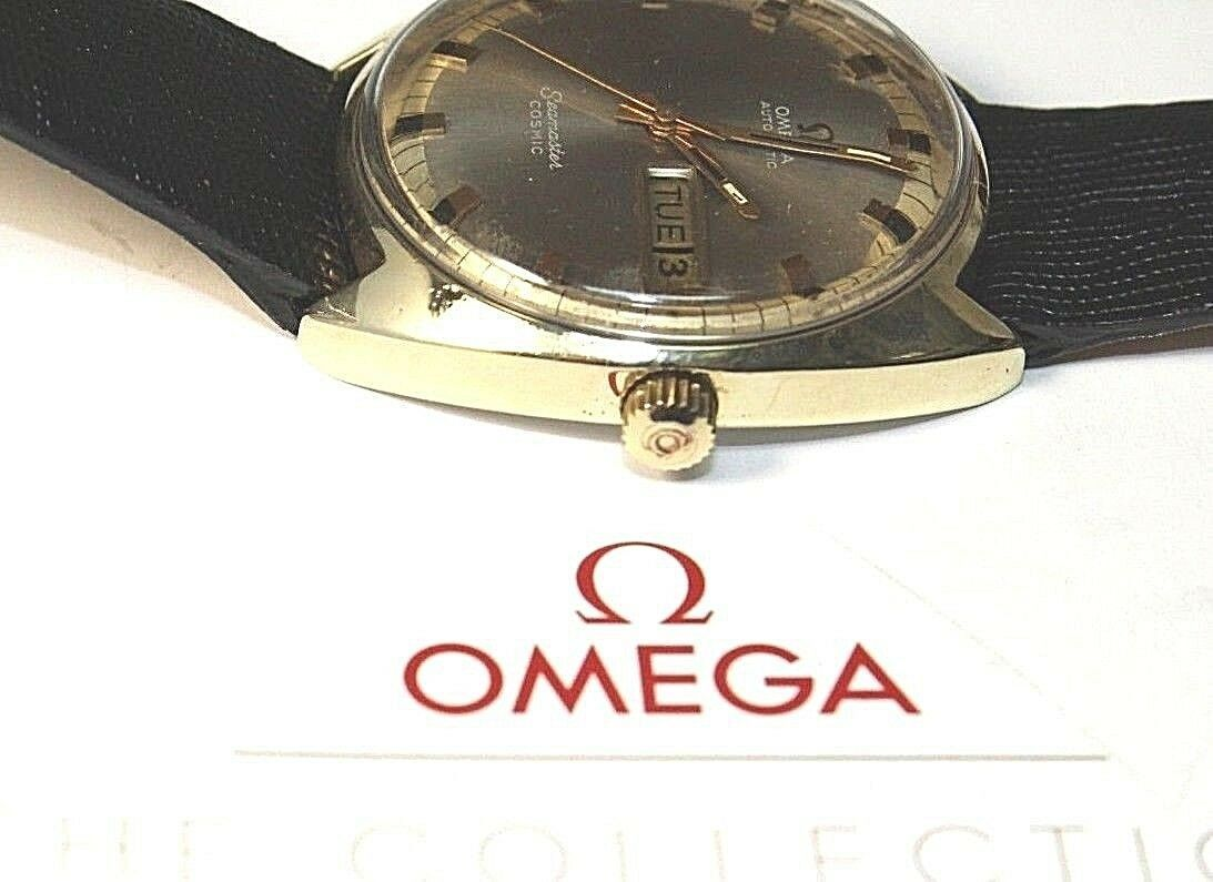 Omega Seamaster Cosmic 752 Vintage Day / Date Automatic Swiss Watch image 5