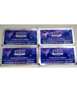 Crest 3D White LUXE Whitestrips Professional Whitening Effects 4 pouch 8... - $11.88