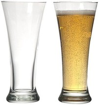 Circleware Quench Beer Glasses Set of 4 11.5 oz. Clear Glassware Kitchen... - $17.80