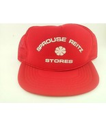 AmaPro Sprouse Reitz Stores Snapback Red Hat Cap - $32.63