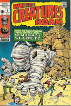 Where Creatures Roam Comic Book #8, Marvel Comics 1971 FINE+ - $14.98