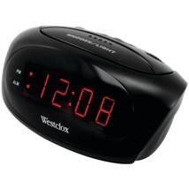 Westclox 70044A Super-Loud LED Electric Alarm Clock (Black) - €23,82 EUR