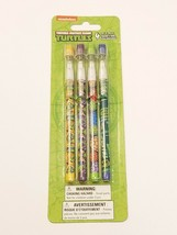 Teenage Mutant Ninja Turtles TMNT Set of 4 Pop-Up Pencils