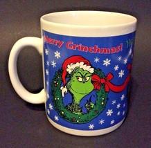 Dr. Seuss GRINCH Coffee Mug Merry Christmas! Christmas Cup - $21.87