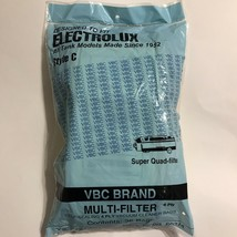 VBC Brand Electrolux Style C Vacuum Cleaner Bags, 26 Count, 4-Ply, NEW - $15.99