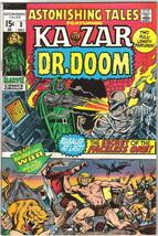 Astonishing Tales Comic Book #3, Marvel Comics 1970 VERY FINE- - $17.34
