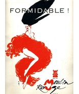 FORMIDABLE ! Bal du Moulin Rouge Program Paris France Le Revue Du Centen... - $27.69