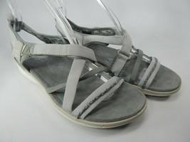 Keen Maya Strap Women's Sports Sandals Size US 7 M (B) EU 37.5 Gray White
