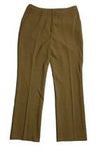 Ann Taylor Women Size 8 (Measure 31x31) Brown Stretch Pants Chino Twill - $11.88