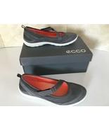 ECCO Sport Arizona Strap Dark Shadow Gray Womens Flats Comfort Shoe 40 /... - $77.85