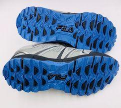 NEW Fila NORTHAMPTON Grey Light Blue Trail Sneakers New Womens Shoes image 5
