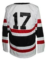 Custom Name # St. Cloud Huskies Retro Hockey Jersey New Sewn White #17 Any Size image 2
