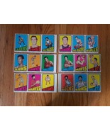 1972 73 Topps Basketball 3-Card Uncut Proof Strip Pick One out of 6 - $49.50