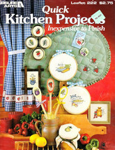 Leisure Arts 222 Quick Kitchen Projects Inexpensive To Finish 49 Designs - $4.95