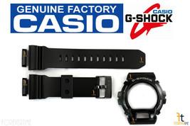 CASIO G-Shock GD-X6900-1V Original Black Rubber BAND & BEZEL Combo - $68.81