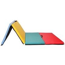 Gymnastics Mat Folding Thick Colorful With Non Absorbent PU Leather Easy... - $1.689,20 MXN