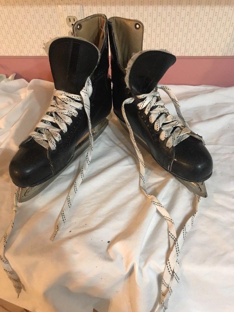 PRO CUSTOM  MEN's Hockey Ice Skates Size 11 Ships N 24h - $95.04