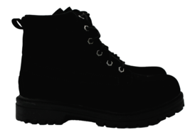 FILA Edgewater 12 Mens All Black Outdoor Hiking Boots Size 8.5 NEW - £35.55 GBP