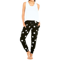 Terez Women Silver Star Foil French Terry Jogger image 2