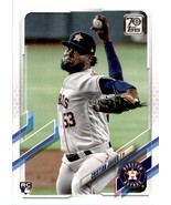 2021 Topps #183 Cristian Javier NM-MT RC Rookie Astros - $0.99