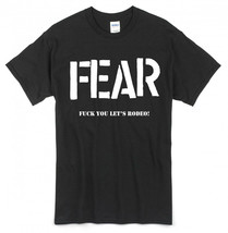 Fear T-shirt ~Size XL~ Lee Ving/Punk/Los Angeles/Beer/Misfits/Black Flag... - $19.26