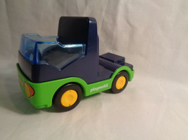 2007 Playmobil Geobra Replacement Truck Cab Blue / Green - As Is - $6.88