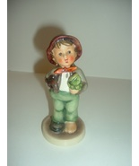 Hummel HUM 374 Lost Stocking Boy with Umbrella Figurine TMK 5 - $34.99