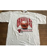 Chicago Bulls Vintage T-shirt 1990s Logo Athletic NWT New Jordan 3peat - $28.50