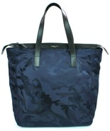 Michael Kors Mens Kent Nylon Navy Blue Camouflage Travel Bag Large - $234.26