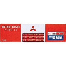 Mitsubishi Pencil Co., Ltd. colored pencil 2351 K2351 vermilion 1 dozen - $9.05