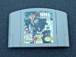 Nintendo 64 NHL Breakaway 1998 - $5.00