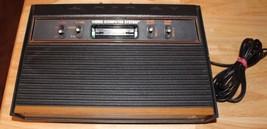 Atari Video Computer Game System CX2600A Edition Woodgrain Console Servi... - $52.43