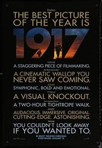 "1917-27""x40"" D/S Original Movie Poster One Sheet 2019 Sam Mendes Review ... - $29.39"