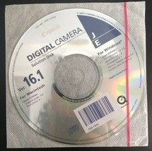 Canon Digital Camera Solution Disk CD Ver. 16.1 - $5.83