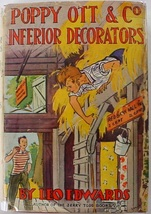Poppy Ott & Co. Inferior Decorators 1937 hcdj Leo Edwards 1st Edition - $50.00