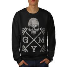 Skull Gym Fitness Sport Jumper Work Out Men Sweatshirt - $18.99+