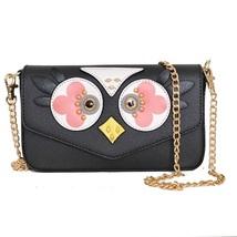 Lovely Birdie Crossbody Purse Handbag Bag Bird Owl Cute Designer Chain C... - $918,43 MXN