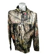 Under Armour Coldgear Hunting Jacket Mossy Oak Camo Breakup XL Zip LS - $64.99