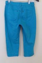 Chicos Chico's Platinum Denim Cropped Capri Pants Women's Size 00 - $18.76