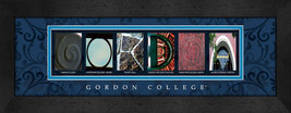 Gordon College Officially Licensed Framed Campus Letter Art - $39.95