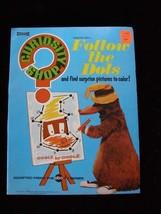 Curiosity Shop Follow The Dots Book Saalfied 1971 New - $24.99