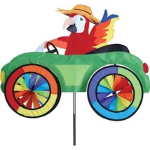 Parrot Fun Car Vehicle Staked Wind Spinner Pole & Ground Mount..24... PR... - $56.99