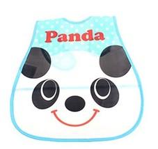 Baby Bib Stereo Disposable Waterproof Bib Saliva Towel Panda 4528CM